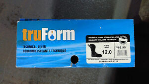 TruForm Replacement Insulated Boot Liners *NEW* Size 12