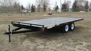 NEW 2016 16' RAINBOW FLATDECK HIGHBOY GVWR 7000 LBS