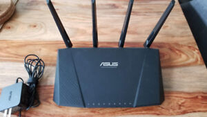 Asus Dual Band Gigabit Wireless AC Router RT-AC87U (AC2400)