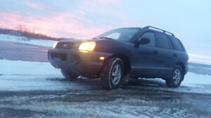 2004 Hyundai Santa Fe . Low km. For sale or trade for a truck