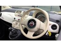 2014 Fiat 500 1.2 Lounge (Start Stop) Manual Petrol Hatchback