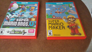 32 GB Nintendo Wii U - Smash Splat Deluxe Set And 2 Games