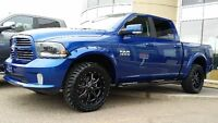 2015 RAM SPORT 1500 LIFTED WITH ALL THE BELLS & WHISTLES !!