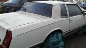 1987 Chevy Monte Carlo Project Car