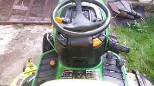 X534 john deere garden tractor