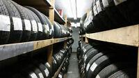 pneus usagés toutes grandeurs