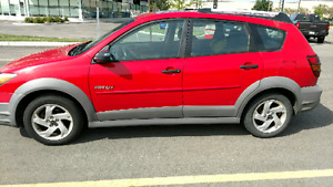 2003 pontiac vibe GT 6 speed 180hp!! Great condition