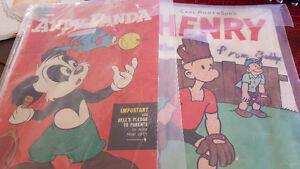 CARL ANDERSONS ,,HENRY'' 1954 AND ANDY PANDA 1955 COMICS