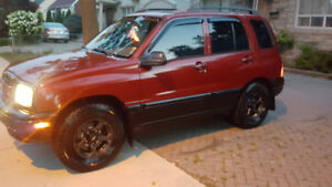 2000 Chevy Tracker great shape