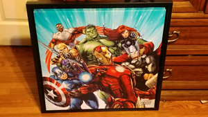 Avengers Framed Canvas