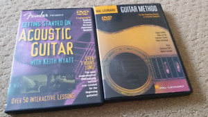 Learn to play guitar- instructional DVD's