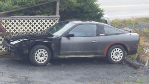 1989 Nissan 240SX Coupe (2 door) restoration project