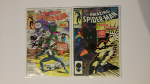The Amazing Spider-Man issue # 256, 280