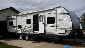 LIKE NEW...2013 SHASTA REVERE BY FOREST RIVER