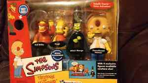 Simpsons Treehouse of Horrors collectable figures  still in box