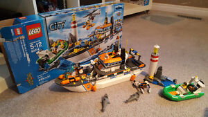 LegoCity Coast Guard Patrol