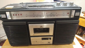 SEARS RARE PORTABLE CASSETTE WITH 8 TRACK