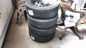 4 Michelin HARMONY P195/70R14  Tires With Rims for $300