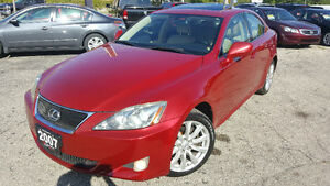 2007 Lexus IS 250 Ultra Prem Sedan - NAV! CAMERA! NEW TIRES!