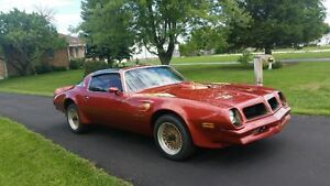 1976 Pontiac Trans Am with T-Tops..Excellent Condition..