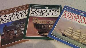 Canadian Antiques & Art Review, 3 Magazines, 1981 Kitchener / Waterloo Kitchener Area image 1