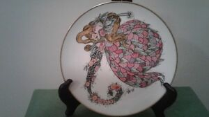 Toller Cranston 'Winged Fantasies' collector plate