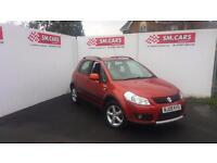 2009 09 SUZUKI SX4 1.9 DDiS 4GRIP 4X4.STUNNING COLOUR.JUST 2 OWNERS.HUGE SPEC .