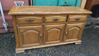 Solid Wood Dining Room Buffet Cabinet