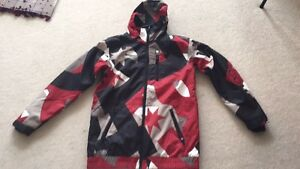 New men's DC snowboard jacket