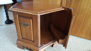 Roxton. Solid maple end tables. Two for sale