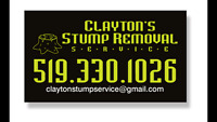Claytons Stump Removal Service