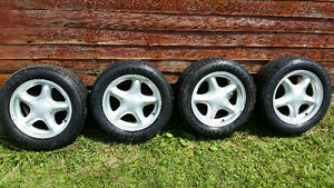 Ford rims with 225 55 16 tires