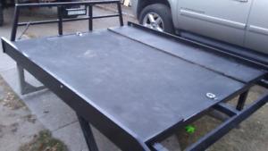 Sled / quad. aluminum deck