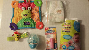 Baby Bibs,Toothbrush and Much More.
