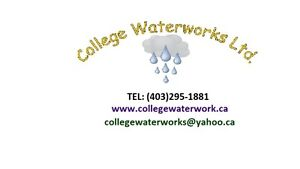 IRRIGATION/ SPRINKLER SPECIALIST-SERVING CALGARY 20 YEARS