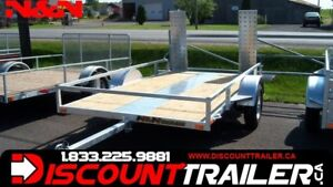 2019 N&N UTILITY 66 X 123 (100% WELDED=HD)TILT 6 .6  X 10 .3 FT