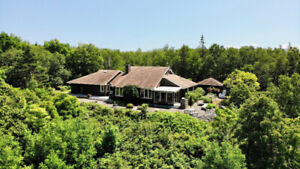 Energy Champion Home on 100 Acres including a Forestry Business!