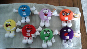 M&M Minis Swarmees plush collectibles