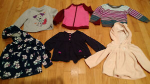 2T girls' sweaters