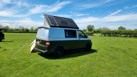 Camper van hire Cheltenham Orange Skies