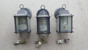 Three Lantern Light Fixtures