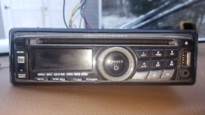 Dual deck with aux and usb