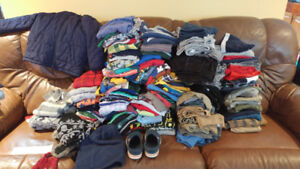 Boys Clothes Size 5-7 - TONS!!!  -incl. Fall/Winter Jacket