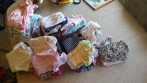 baby girl clothes 0-3months and 3-6months