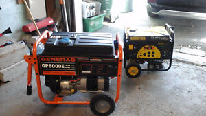 TWO new Generator for immediate  sale,Generac and Champion