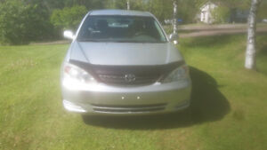 REDUCED IN PRICE  PRIVATE SALE  TOYOTA CAMRY