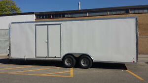 Enclosed trailer for rent. Transport show cars or race cars