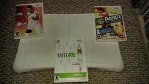 Wii Fit with Balance Board and 2 additional games Kitchener / Waterloo Kitchener Area image 1