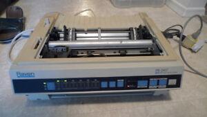 Roland Form Printer PR-2417 Dot Matrix Printer