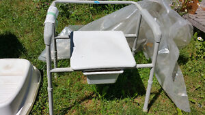 Commode Wide, or Wheeled (2) Huntsville